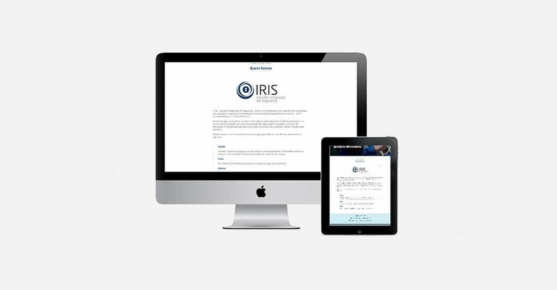criação de site - Iris Tecnologias 04