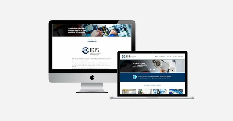 criação de site - Iris Tecnologias 05