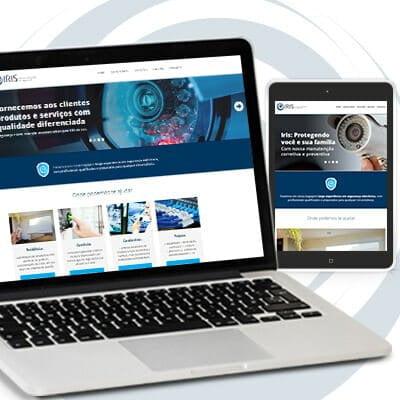 Criação de Site - Iris Tecnologias