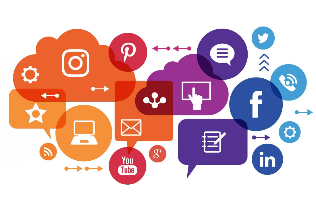 Nuvem de redes sociais para utilizar no seu negócio
